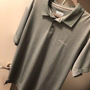 Columbia- Short Sleeve Men's Golf Shirt